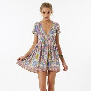 Spell & the Gypsy Lovebird UT mini dress NWT